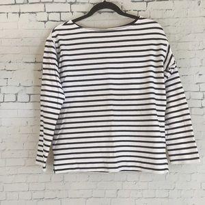 Everlane Striped Shirt Small